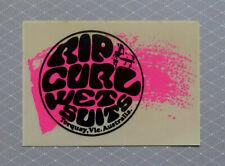 RIP CURL WET SUITS  -  Original Vintage  1980,s  SURFING sticker