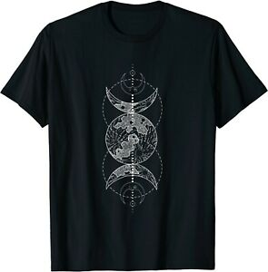 Moon Goddess Witch Wicca Pagan Occult Tee For Men Women T-Shirt