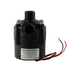 12V DC Brushless Circulating Pump - 5.3 GPM / 20 LPM - Can be used Submersible
