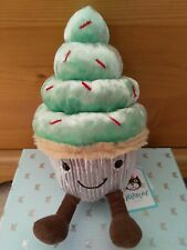 Jellycat. Minty Cutie Cupcake. Brand New With Tags. Retired.