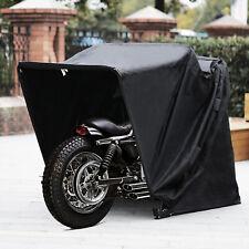 Motorradgarage Faltgarage Motorrad Quad Garage Schutzplane Faltzelt schwarz XXL