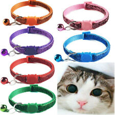 6PCS Wholesale Small Pet Collar Kitten Cat Puppy Kitty Collars Safety Breakaway