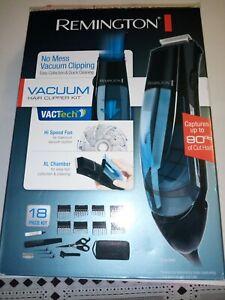 Remington Vacuum Hair Clipper Kit 18 Pieces Corded HKVAC2000 NEW