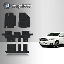 2015 GGBAILEY D50874-S2B-CH-BR Custom Fit Car Mats for 2014 2017 Infiniti QX60 Brown Driver 2016 Passenger /& Rear Floor