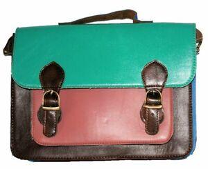 Womens Gringo Retro Fairtrade Leather Satchel Bag
