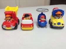 McDonalds Happy Meal Toys - Fisher Price Trucks & Helicopter
