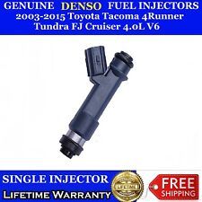 Single OEM Denso Fuel Injectors Toyota Tacoma 4Runner Tundra FJ Cruiser 4.0L
