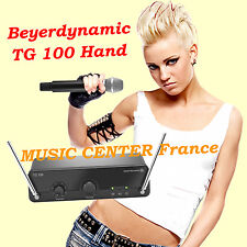 Beyerdynamic TG-100 Hand - TG100H - micro main sans fil - NEUF - GARANTIE 3 ANS