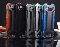 Waterproof Gorilla Glass Metal Case Cover Bumper Fits iPhone 6 plus 5S Skins