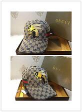Stitched Gucci Baseball Hat-Bee Logo Size M