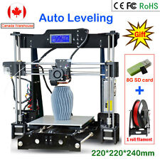 DIY High Accuracy CNC Self Assembly 3D Printer Auto Leveling LCD Screen Full Kit