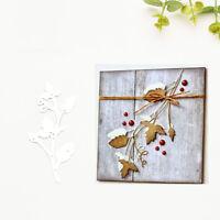 Leaves DIY Metal Cutting Die Scrapbook Album Paper Cards Embossing Stencil Sanwo