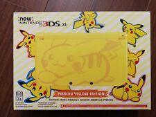 Nintendo New 3DS XL - Pikachu Yellow Edition Console