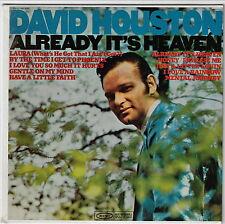 Stereo Jukebox EP / DAVID HOUSTON - Already It's Heaven : w/ Strips & Inserts !!