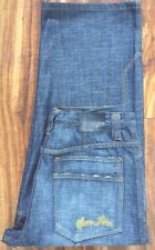 SEAN JOHN Relaxed Fit Factory Distressed MEN'S JEANS SZ 38 X 28 AWESOME! MINT!
