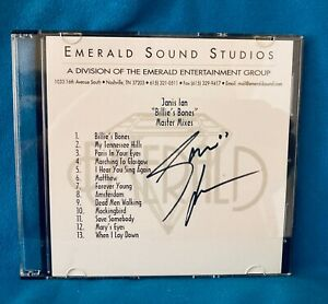Janis Ian:  Billie's Bones Master Mixes CD, signed by Janis