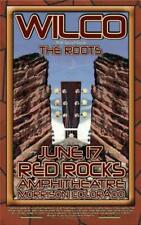 WILCO RED ROCKS DENVER CONCERT POSTER 2006 ORIGINAL JEFF TWEEDY
