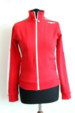 Reebok BNWT Red Zip Up Women Jumper Size UK 10 EU S