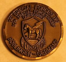 10th SFG Airborne 1st Special Forces BN Boblingen Germany Army Challenge Coin