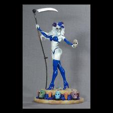 CS MOORE Lady Death La Muerta Azul Version Statue Figure Blue - Day of the Dead