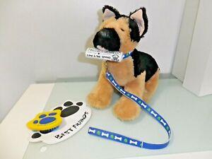 Build a bear Workshop   German Shepherd puppy with Accessories