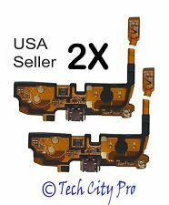 Lot of 2 LG Optimus L90 D405 D410 D415 Micro USB Charging Port Mic Flex Cable