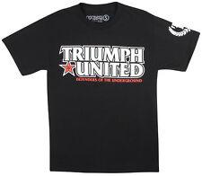 Triumph United Mens Defend T-Shirt - Black - Small