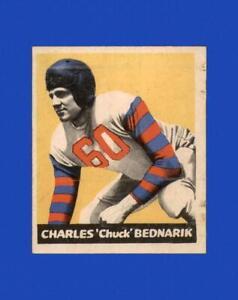 1949 Leaf Set Break #134 Chuck Bednarik VG-VGEX *GMCARDS*