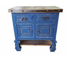 "Rustic Yugo Blue Bathroom Vanity 36"" different colors"