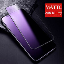 For iPhone 11 Pro Max XR X Blu-Ray Matte Frosted Tempered Glass Screen Protector