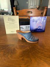 Willitts Raine Just The Right Shoe Denim Blues 2000 # 25058 Box Coa New