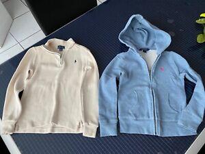 POLO Ralph Lauren Kids Unisex Hoodie Kapuzenpullover Pullover Sweatshirt Gr. 116