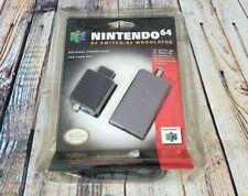 OEM Nintendo 64 RF Switch/RF Modulator In Blister Pack - Damage to Packaging N64