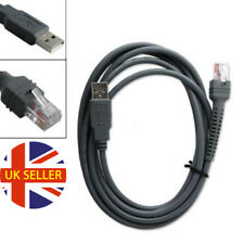 USB 7ft 2M Cable para Symbol Escáner De Código De Barras LS1203 LS2208 LS4208 CBA-U01-S07ZAR