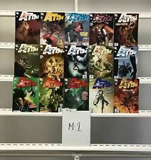 The All New Atom Dc 15 Lot Comic Book Comics Set Run Collection Box