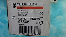 BLOC  DIFFERENTIEL VIGI C60 3P 40A 300mA-AC  MERLIN GERIN   26542