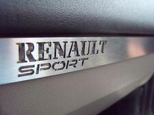 PLAQUE RENAULT MEGANE II RS F1 R26 TURBO DCI SPORT KARMANN CABRIO HIGHLINE