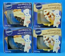 Pillsbury Iced Cinnamon Rolls-Fresh Blueberry Pie Candles Lot Of 4