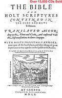 NEW 1560 Geneva Bible-Vintage-Breeches Bible-with Apocrypha-on CD PDF Ebook