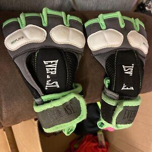 1300002 Everlast Prime Evergel Hand Wraps LG Green White Black Boxing Gloves