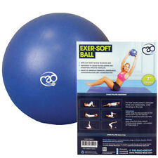 "Fitness Mad 7"" Exer-Soft Exercise Anti-Slip Ball - For Pelvic & Pilates Workout"