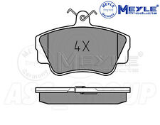 Meyle Brake Pad Set, Front Axle With anti-squeak plate 025 212 1717