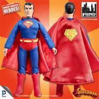 DC Comics Retro Super friends SUPERMAN 8 Inch Action Figure LOOSE NEW!