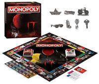 Monopoly: It Board Game Exclusive  Sealed Free Shipping Bonus Bev's Key Token