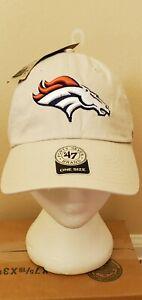 Denver Broncos Tan Adjustable Hat