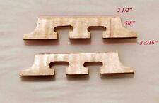 Antonio - 2 Pieces Scalloped Style Maple For Banjo Bridge Parts Luthier Mb52