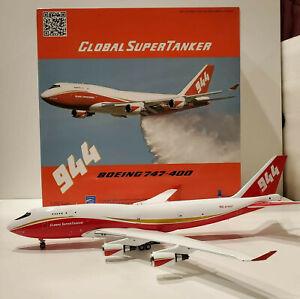 Inflight 200 GLOBAL SUPER TANKER Boeing 747-400. Reg:N744ST. Item # IF744GSS01.