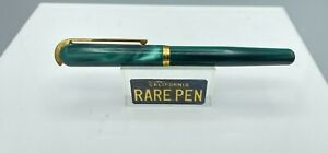 "Visconti Pericle First Edition GREEN PEARL Fountain Pen 5.7"" Year 1994"