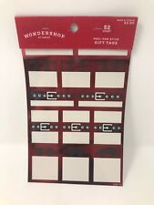 New by Wondershop (5) Sets of Peel & Stick Gift Tags 260 Tags Total