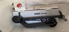 Segway Ninebot Electric Folding KickScooter Es2 - Dark Gray New unopened scooter